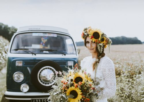 Hippie Summer Wedding